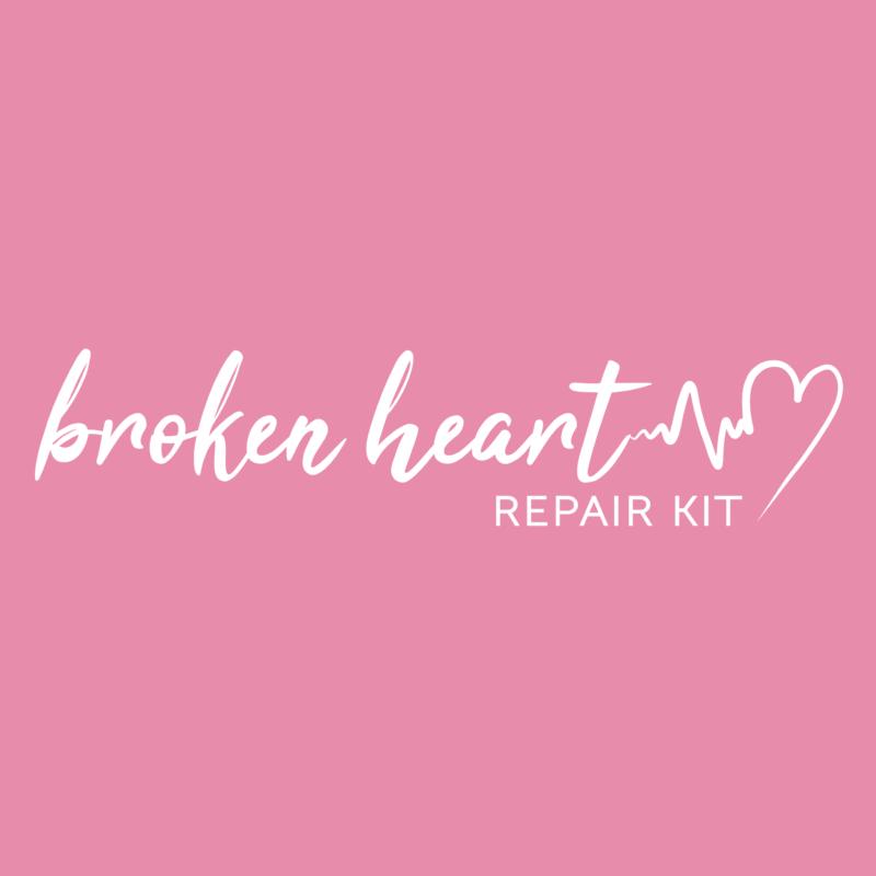 Broken Heart Repair Kit Logo - Pink-01