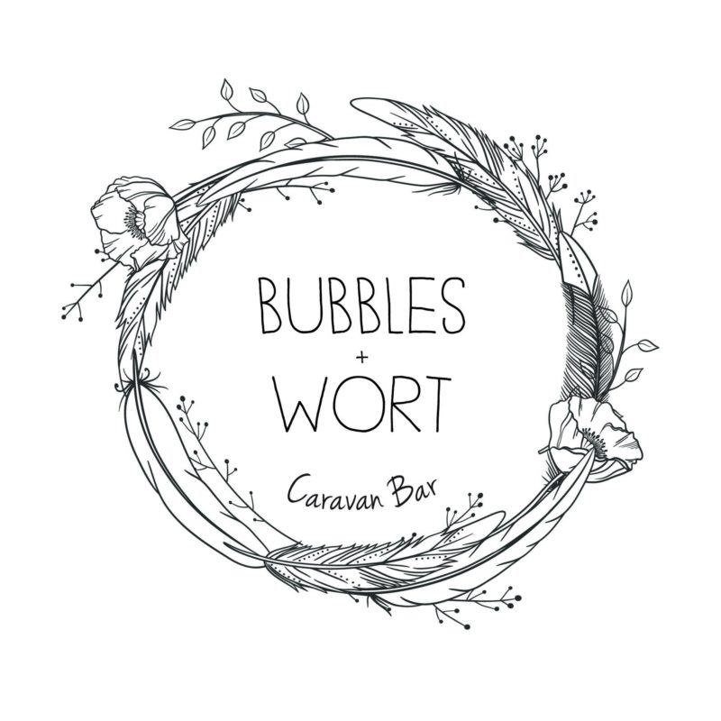 Bubbles and Wort Logo Design
