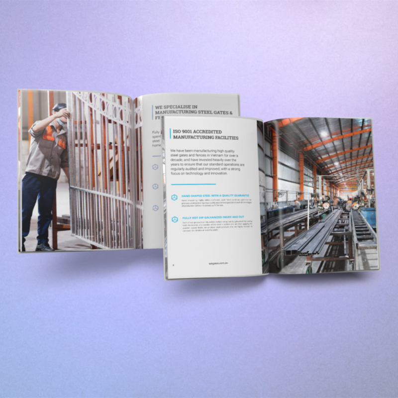 Tek Gates Brochure Design
